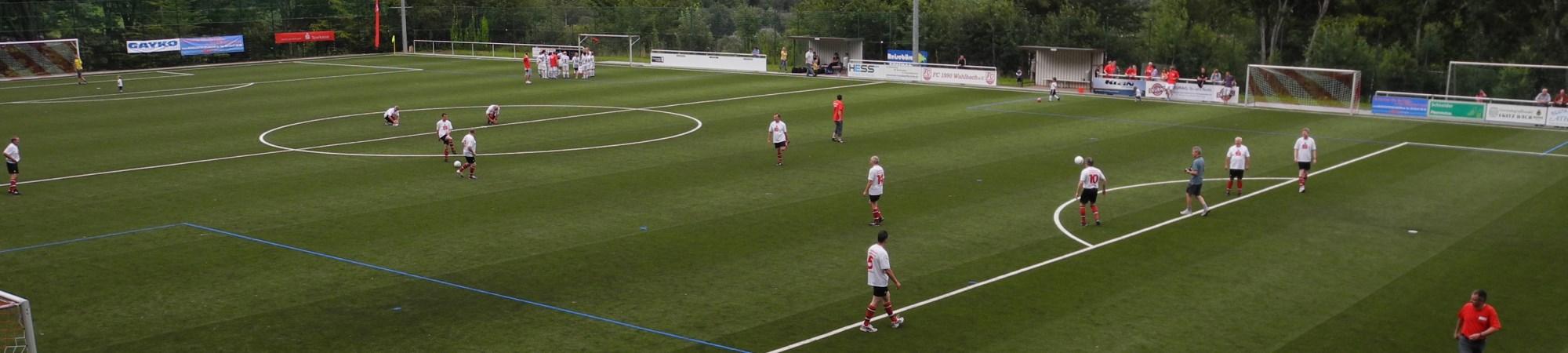 Der Fußballplatz in Wahlbach